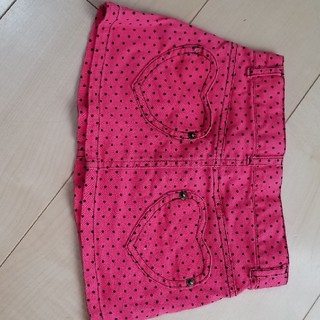 シマムラ(しまむら)のスカート 90 ポケット ハート ドット(スカート)