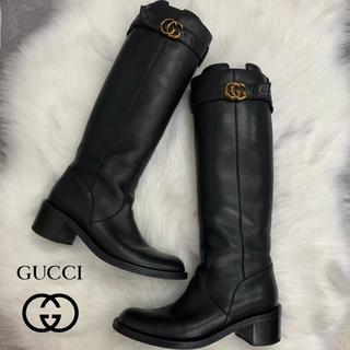 グッチ(Gucci)の686 GUCCI レザー ブーツ(ブーツ)