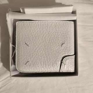 マルタンマルジェラ(Maison Martin Margiela)の限定価格 Maison Margiela メゾンマルジェラ 財布 新品 ホワイト(折り財布)