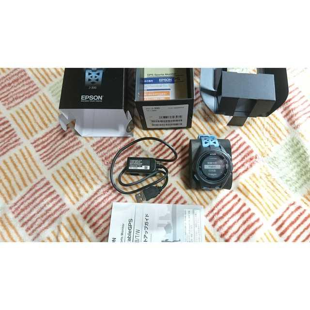 EPSON Wristable GPS J-300Tの通販 by rakumatoon's shop|ラクマ