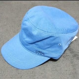 coen - ワークキャップ 帽子 コーエン スカイブルー