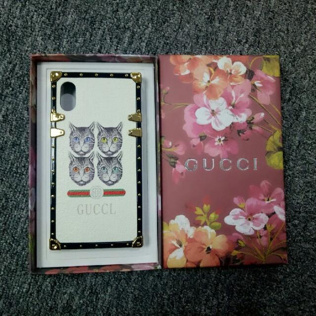 コード ギアス iphone8 ケース | Gucci -  GUCCI グッチ iphone X、XS用ケース 正規品の通販 by かっすう's shop|グッチならラクマ