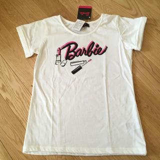 バービー(Barbie)の新品未使用‼️160センチ 半袖 tシャツ barbie バービー (Tシャツ/カットソー)
