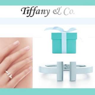 ティファニー(Tiffany & Co.)のTiffany&co Tスクエアリング(リング(指輪))