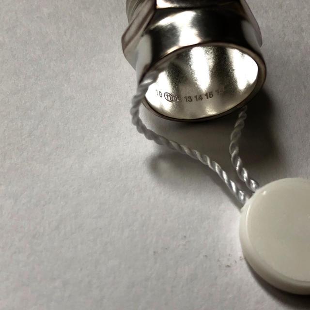 Maison Martin Margiela(マルタンマルジェラ)の新品. メゾン マルジェラ ボルト ナット シルバー リング M/約13号 レディースのアクセサリー(リング(指輪))の商品写真