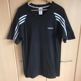 アディダス(adidas)の90s adidas vintage  ロング丈 Tシャツ(Tシャツ/カットソー(半袖/袖なし))