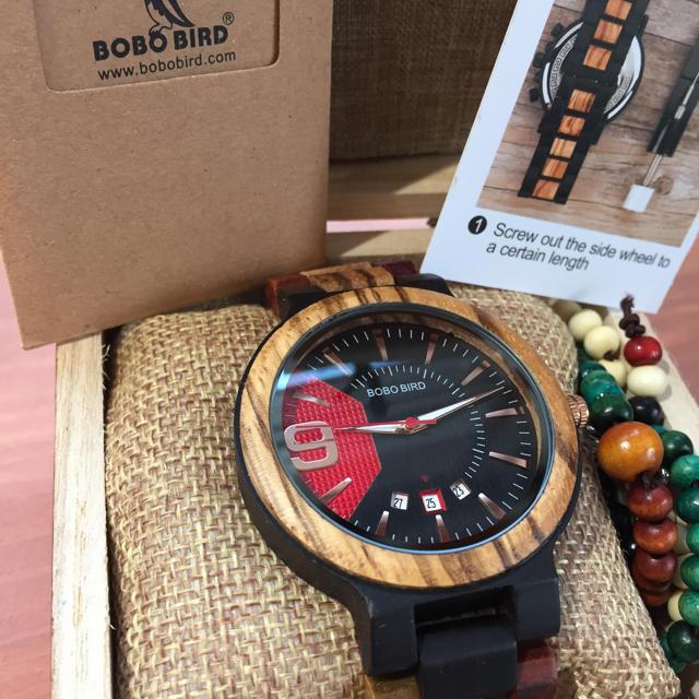 ボボバード BOBO BIRD 木質 木 腕時計 新品未使用の通販 by まみぃ's shop|ラクマ