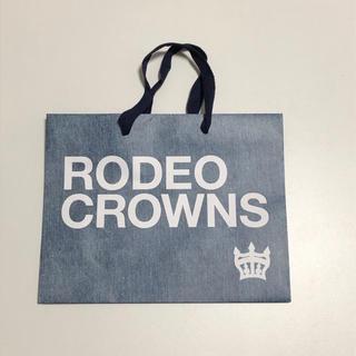 ロデオクラウンズワイドボウル(RODEO CROWNS WIDE BOWL)のRODEO CROWNS WIDE BOWL ショッパー(ショップ袋)
