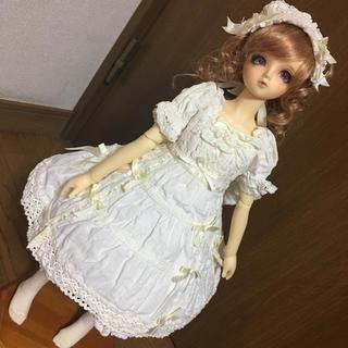 VOLKS - ホワイティーヌワンピースセット/BABYコラボ/スーパードルフィー/下妻物語SD