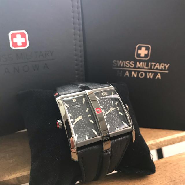 SWISS MILITARY - SWISS MILITARY HANOWA   スイスミリタリー 腕時計の通販 by Rina❤︎  |スイスミリタリーならラクマ