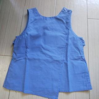 プティマイン(petit main)の新品 ブルーのブラウス(ブラウス)