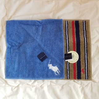 ラルフローレン(Ralph Lauren)の新品 ラルフローレン タオルハンカチ 2枚 セット ブランドタオル (ハンカチ/ポケットチーフ)