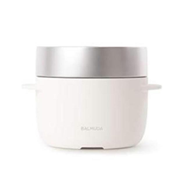 BALMUDA(バルミューダ)のバルミューダ 炊飯器 BALMUDA Gohan K03A-WH ホワイト 白 スマホ/家電/カメラの調理家電(炊飯器)の商品写真