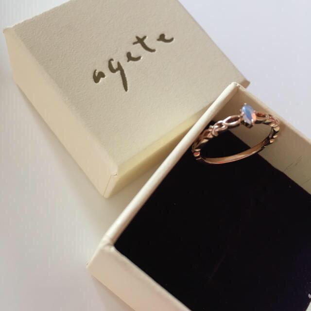 agete(アガット)のアガット リング レディースのアクセサリー(リング(指輪))の商品写真