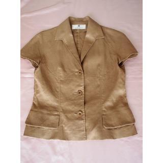 ジバンシィ(GIVENCHY)の最終値引GIVENCHY☆ジバンシー 最高級 麻のジャケット「38」(テーラードジャケット)