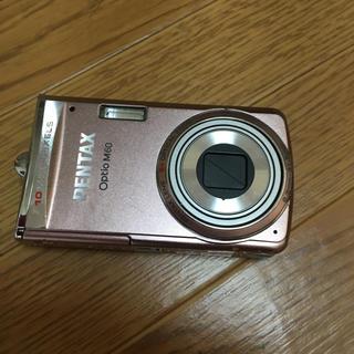 ペンタックス(PENTAX)のPENTAXデジカメピンク(コンパクトデジタルカメラ)