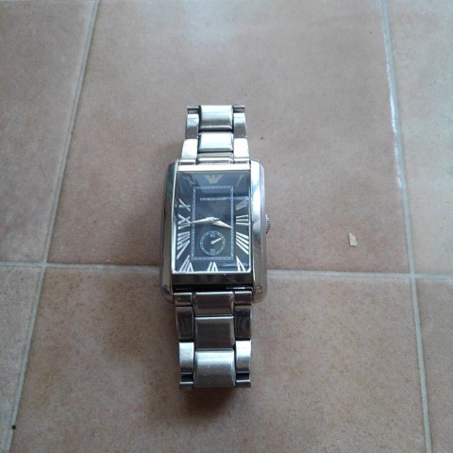 アルマーニ腕時計の通販 by ケイオス's shop|ラクマ