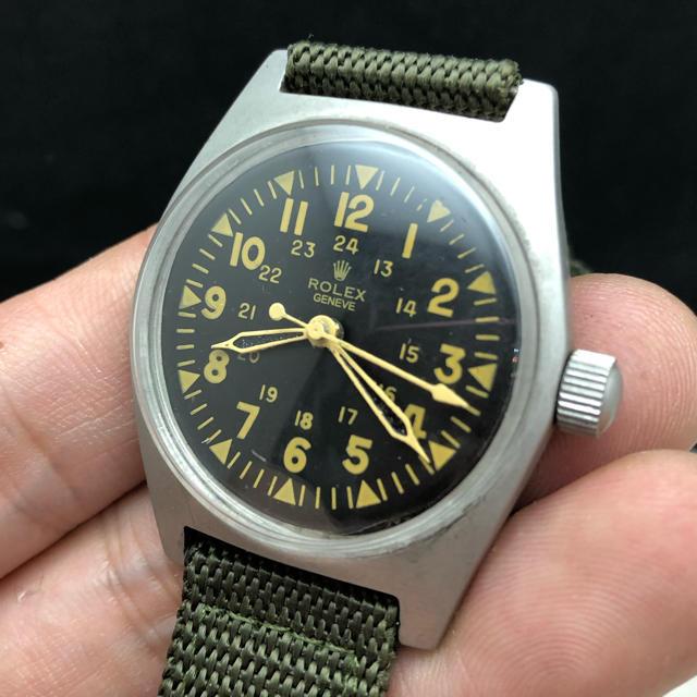 ロレックス メンズ 時計 - ロレックス military ミリタリー アーミーの通販 by abes |ラクマ