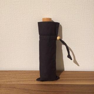 ムジルシリョウヒン(MUJI (無印良品))の無印良品 日傘 黒(その他)