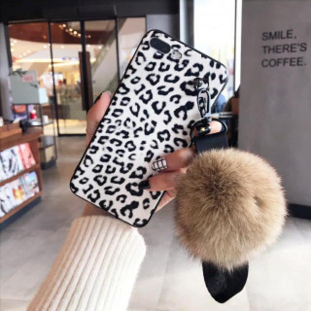 iphone7 ケース オロビアンコ | 新品 レオパード ヒョウ柄  ファーストラップ付き iphoneケース 各サイズの通販 by カルバン's shop|ラクマ