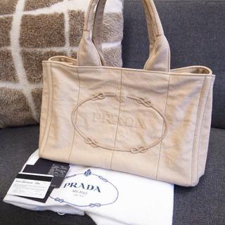 e2a8eb0a022b プラダ(PRADA)の正規品☆プラダ カナパトート カナパ ジャガード 刺繍 ロゴ バッグ 財布