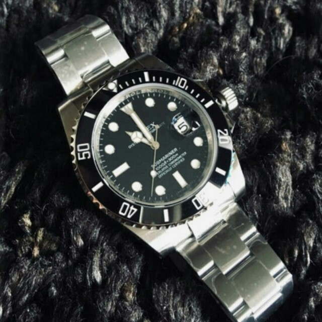 ロレックス ミルガウス 、 (最新1 version9 black sub 904L modelの通販 by ハギワラ トミオ's shop|ラクマ