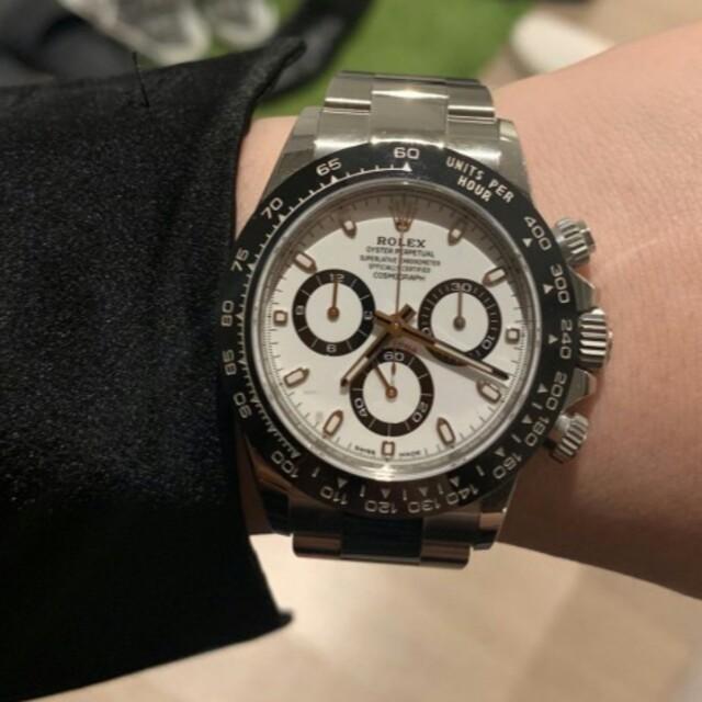 ロレックス スーパー コピー 激安価格 - ROLEX デイトナ ロレックス 自動巻き腕時計116500LNの通販 by ハギワラ トミオ's shop|ラクマ