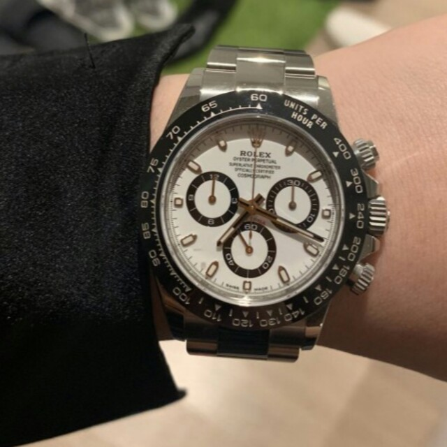 ROLEX デイトナ ロレックス 自動巻き腕時計116500LNの通販 by ハギワラ トミオ's shop|ラクマ