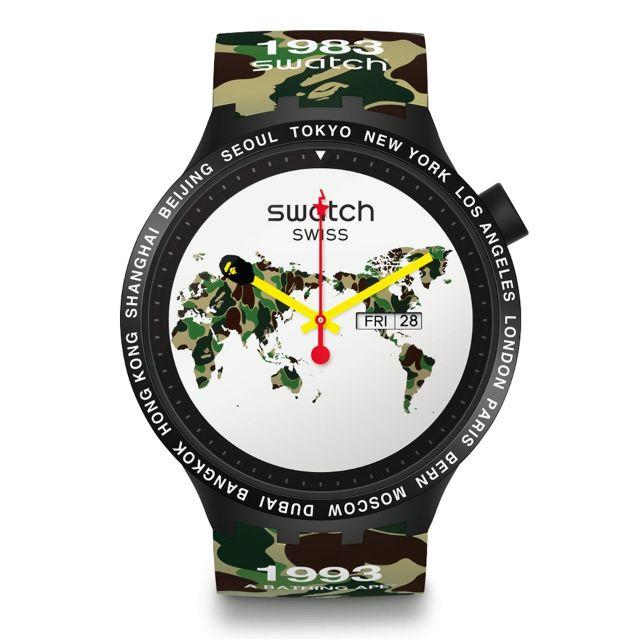 時計 コピー ロレックスヴィンテージ - A BATHING APE - BAPE SWATCH BIG BOLD THE WORLDの通販 by new M shop|アベイシングエイプならラクマ