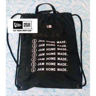 ジャムホームメイドアンドレディメイド(JAM HOME MADE & ready made)の☆未使用 JAM  HOME MADE ニューエラ  ナイロンリュック/バッグ☆(バッグパック/リュック)