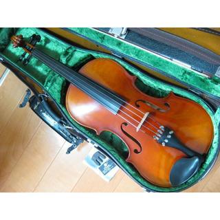 スズキ(スズキ)の高級 国産ビオラ SUZUKI No.2 15.5インチ 付属品セット(ヴィオラ)