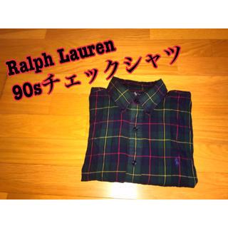 ラルフローレン(Ralph Lauren)の【美品】Ralph Lauren ラルフローレン 90s チェックシャツ(シャツ)
