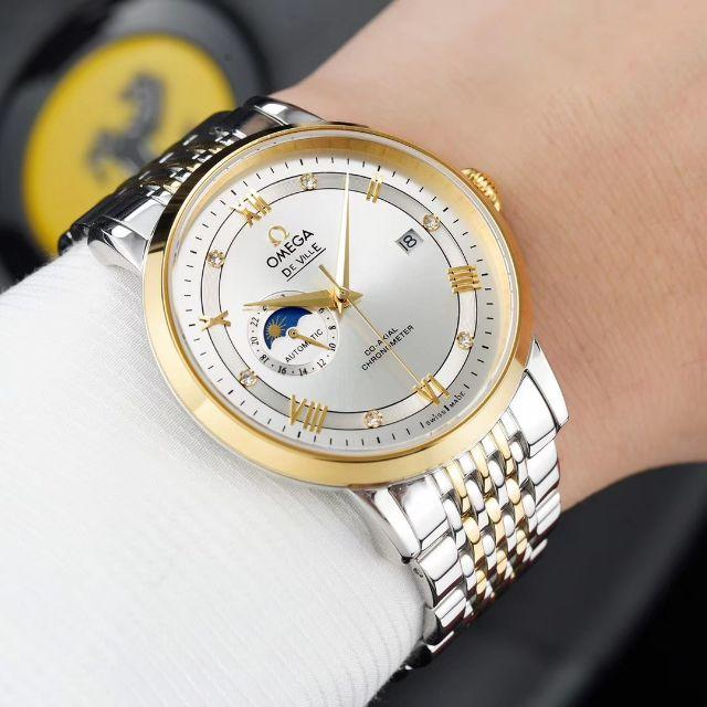 ブランド スーパーコピー 時計見分け方 - OMEGA オメガ 腕時計の通販 by えはゆ's shop|ラクマ