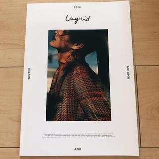 アングリッド(Ungrid)のUngrid 2016 秋冬カタログ(ファッション)