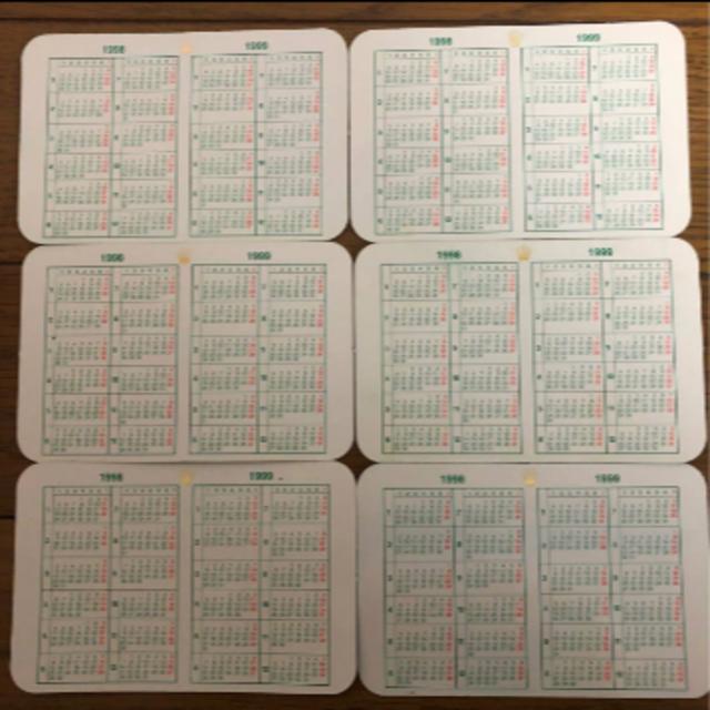 ROLEX - ROLEXカレンダーカード 2000~2001年 6枚セット�通販 by 玉���や's shop|ロレックス�らラクマ