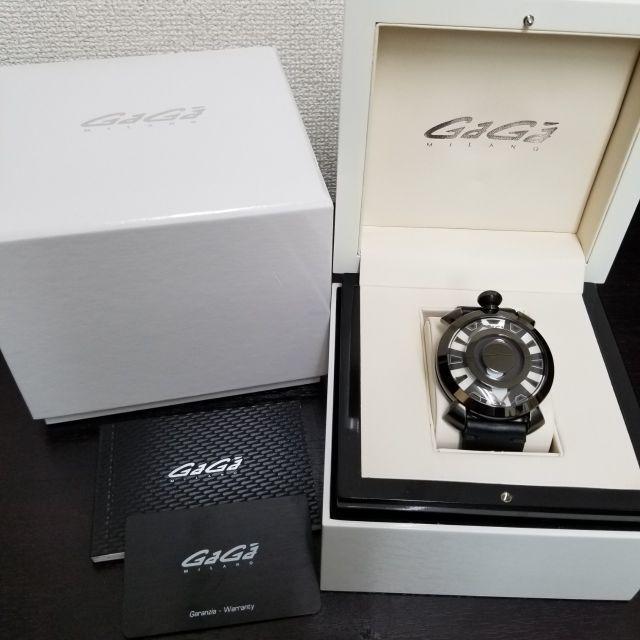 GaGa MILANO - ガガミラノ 腕時計 ミステリーユース 美品 レア☆ の通販 by yo-'s shop|ガガミラノならラクマ