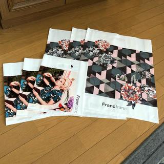 フランフラン(Francfranc)のフランフランショッパー6枚 新品・未使用(ショップ袋)