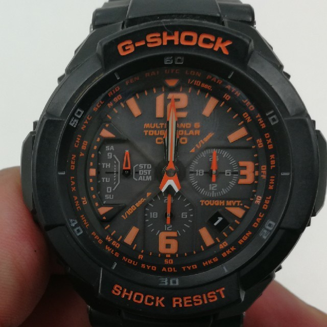 G-SHOCK - 【動作確認済】《綺麗》CASIO G-SHOCK 腕時計 GW-3000Bの通販 by ou0-3-0wo's shop|ジーショックならラクマ
