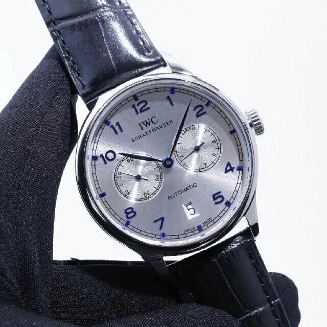 スーパーコピー 時計 セイコーレディース - IWC - IWC ポルトギーゼ クロノグラフ シルバーの通販 by jlk587 's shop|インターナショナルウォッチカンパニーならラクマ