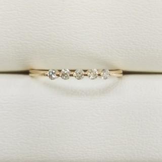 K18PG ダイヤモンドリング エステール(リング(指輪))