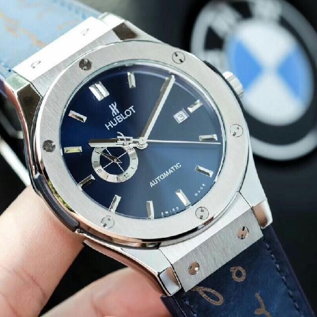 機械腕 時計 - HUBLOT - HUBLOT 腕時計機械自動巻きの通販 by オカモト ミチオ 's shop|ウブロならラクマ