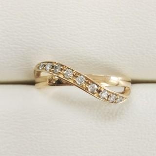 ヨンドシー(4℃)のK18 ダイヤモンドリング 4℃(リング(指輪))
