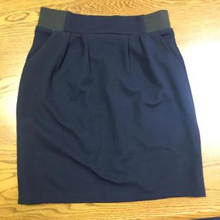 ローリーズファーム(LOWRYS FARM)のタイトスカート ネイビー 紺(ミニスカート)