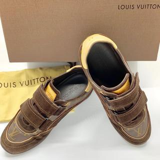ルイヴィトン(LOUIS VUITTON)の美品 ルイヴィトン LOUIS VUITTON6 1/2 24cm モノグラム(スニーカー)