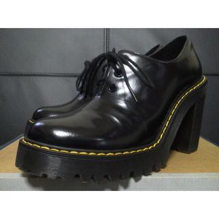 ドクターマーチン(Dr.Martens)の【激レア】Dr.Martens SALOME UK5 黒 厚底 ヒール  (ローファー/革靴)