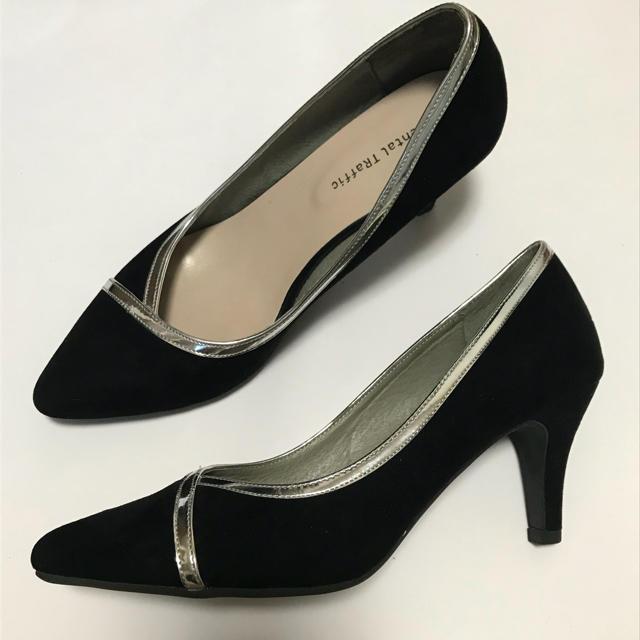 ORiental TRaffic(オリエンタルトラフィック)のオリエンタルトラフィック_メタリックラインパンプス レディースの靴/シューズ(ハイヒール/パンプス)の商品写真