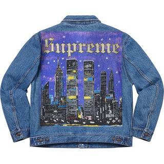 シュプリーム(Supreme)のSUPREME New York Painted Trucker Jacket (Gジャン/デニムジャケット)