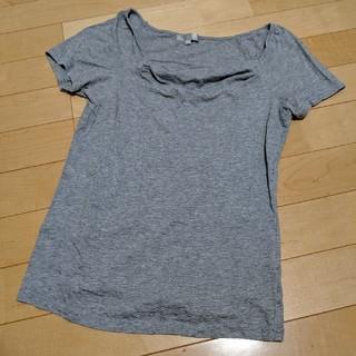 ザジ(ZAZIE)のグレーTシャツ(Tシャツ(半袖/袖なし))