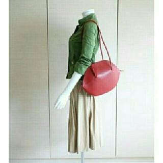 シビラ(Sybilla)のかのん様ご専用💕美品シビラSybilla深い赤の本革ショルダーバッグ(ショルダーバッグ)