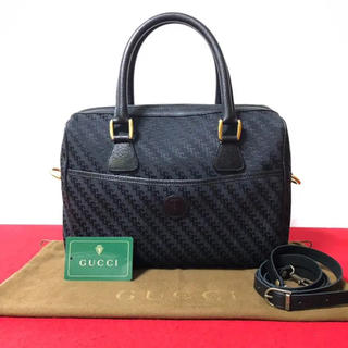 95bb24666f24 グッチ(Gucci)の極 美品 グッチ オールドグッチ 2way ショルダーバッグ ボストン バッグ